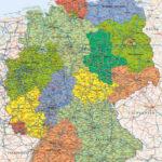 mapa Německa - politická
