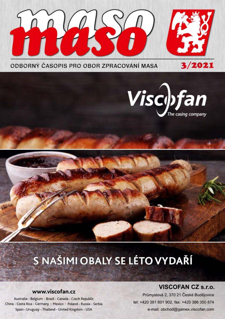 Odborný časopis pro obor zpracování masa, číslo 3/2021